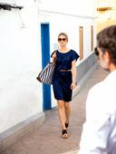 Электронная выкройка Burda - Шёлковое платье с прорезными карманами 8