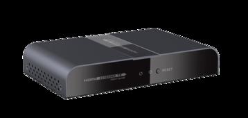 Удлинитель HDMI CleverMic по электросети до 300м HEPL380PRO