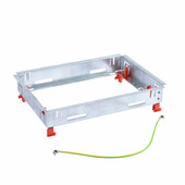 Основание неукомплектованное для монтажа ревизионной напольной коробки стандартное исполнение 8-12 модулей. Legrand (Легранд). 088039