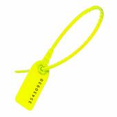 Пломбы пластиковые номерные УП-255, желтые {56276} (1000 шт.)