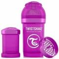 Twistshake Neon Бутылочка антиколиковая Фиолетовая подружка, 180 мл
