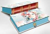"""Коробка подарочная Magic Home """"Цветы и павлиньи перья"""". 42364"""