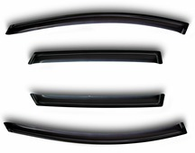Комплект дефлекторов Sim, для Renault Logan 2014- седан, 4 шт