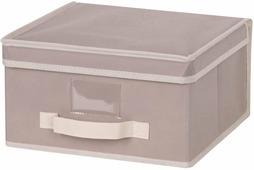 "Короб для хранения ""Handy Home"", цвет: бежевый, 30 x 30 x 16 см"