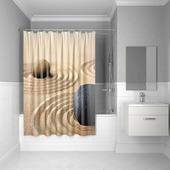 Штора для ванной комнаты, 180*200 см, полиэстер, Sandy, 640P18Ri11, IDDIS