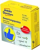 Avery Zweckform Этикетка универсальная Палец вверх 250 шт