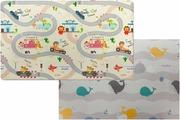 Игровой коврик Parklon Green Soft Дороги Киты