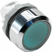 MP1-21G Кнопка зеленая с подсветкой без фиксации ( только корпус ) ABB, 1SFA611100R2102