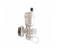 Регулируемый концевой фитинг с дренажным вентилем, автоматический воздухоотводчик (АРТ. SMS 1000 010001)