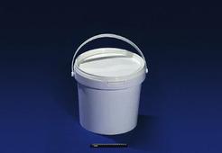 Ведро полипропиленовое пищевое белое 32,8л JOKEY, с белой крышкой.1802/327z