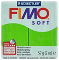"""Полимерная глина Fimo """"Soft"""", цвет: светло-зеленый, 57 г"""