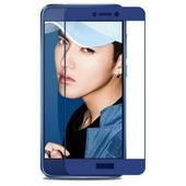 Shemax Защитное стекло на весь экран для Huawei P8 Lite 2017 с полной проклейкой, синий цвет