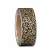 Противоскользящая блестящая лента Glitter Grip, золотой с вкраплениями (50мм х 18,3м) {M8KR050183}