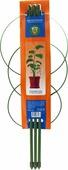 """Опора для растений """"Garden Show"""", круглая (3 кольца), высота 45 см"""