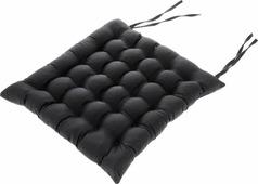 "Подушка на стул Smart Textile ""Уют"", с завязками, наполнитель: лузга гречихи, 40 х 40 см"
