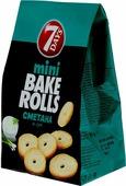Сухари Bake Rolls, пшеничные, с приправой сметана и лук, 80 г