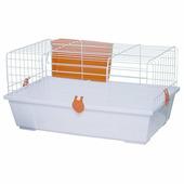 Клетка для грызунов VOLTREGA 40,5x70x34 см белая (001934B)