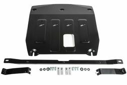 Защита картера и КПП Rival для Hyundai Santa Fe IV 2018-н.в., сталь 2 мм, с крепежом. 111.2373.1