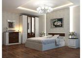 Спальня Ассоль (белфорт, венге-дуб белёный матовый)