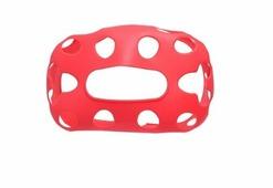 Силиконовый чехол для очков HTC Vive Pro красный