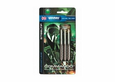 Дротики Winmau Nickel Silver Commando 21gr darts27