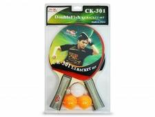 Набор для н/т Double Fish 2 ракетки и 3 мяча (CK-301)