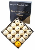 Комплект шаров 67 мм «Super Aramith Pro Tournament» 70.174.67.0 Aramith Saluc