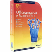 Microsoft Office 2010 Home and Business RU x32/x64 ESD [T5D-00415-E]