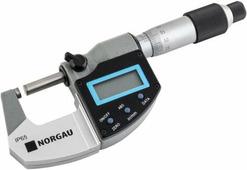 Norgau Микрометр цифровой 0-25мм NMD-165D (041057001)