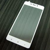 для Xiaomi RedMi 4 Защитное стекло Ainy Full Screen Cover 2,5D 0,33 мм белое