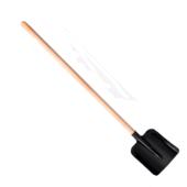 Лопата совковая ДЧ, деревянный черенок без лака, без ухвата