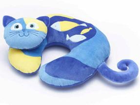 Детская подушка для путешествий Travel Blue Kitty the Cat Travel Neck Pillow Кот (282)