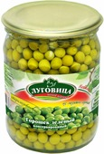 """Овощные консервы Луговица """"Горошек зеленый"""", 650 г"""