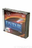 Записываемый компакт-диск VS DVD-R 4.7Gb 16x SL/5, 1 штука