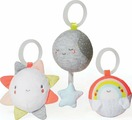 Skip Hop Набор игрушек-подвесок Трио тучки