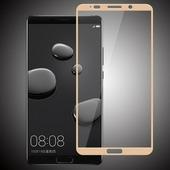 для Huawei Mate 10 Защитное стекло Ainy Full Screen Cover 2,5D 0,33 мм золотое