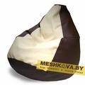 Кресло Груша Чёрно-белый шоколад (Размер-XL)