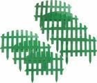 """Забор декоративный Palisad """"Винтаж"""", цвет: зеленый, 28 см х 3 м"""