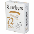 72 конверта из натуральной крафт-бумаги , подойдут для любых целей
