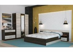 Спальня Уют с трехстворчатым шкафом (сонома, кантерберри)