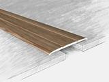 Порог алюминиевый, ламинированный 140717Т, дуб глина 180 см