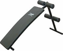 Силовая скамья Absolute Champion, 4690337005913, черный, для пресса, с выгнутой спинкой