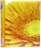 """Фотоальбом Pioneer """"Fler-De-Lis"""", цвет: желтый, 10 магнитных листов, 23 х 28 см"""