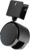 "Колесная опора ""Tech-Krep"", 40 мм, для ДСП 16 мм, цвет: черный"