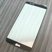 для LG K10 Защитное стекло Ainy Full Screen Cover 2,5D 0,33 мм черное
