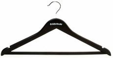 """Набор вешалок универсальных Attribute Hanger """"Siluet Black"""", 45 см, 4 шт"""