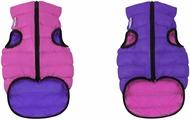 """Куртка для собак """"AiryVest"""", двухсторонняя, унисекс, цвет: розовый, фиолетовый. Размер XS (25)"""