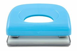 KW-trio Дырокол Dolphin 091X9 цвет синий 10 листов