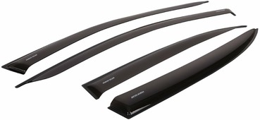 """Дефлекторы окон Voron Glass """"Samurai"""", для Renault Logan 2005-2014, 4 шт"""