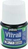 Pebeo Краска для стекла и металла Vitrail лаковая прозрачная цвет 050-037 кобальт синий 45 мл